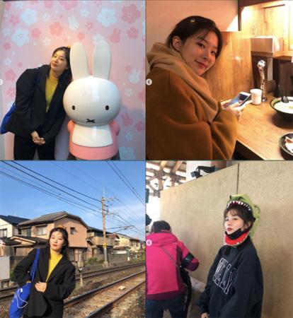 「Red Velvet」スルギ、幸せな日本旅行の一幕を公開「友人との初めての海外旅行」(提供:OSEN)