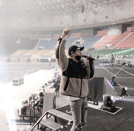 ユンホ(東方神起)、コンサート控えてリハーサル現場を公開(画像:OSEN)