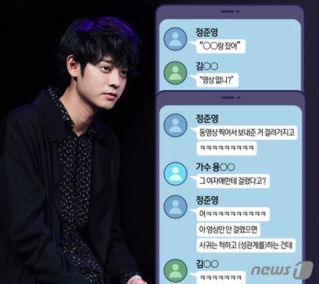 """韓国警察が、歌手V.I(BIGBANG、28)やチョン・ジュンヨン(30)が参加のカカオトークのグループトークルームに登場した""""警察総長""""に関して、現職の総警を呼んで取り調べをしている。(提供:news1)"""