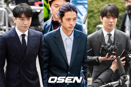 """韓国歌手V.I、チョン・ジュンヨン、チェ・ジョンフンが参加していたカカオトークのグループトークルームで""""警察総長""""と呼ばれていた総警レベルの人物A氏が待機発令を受けた。(提供:OSEN)"""