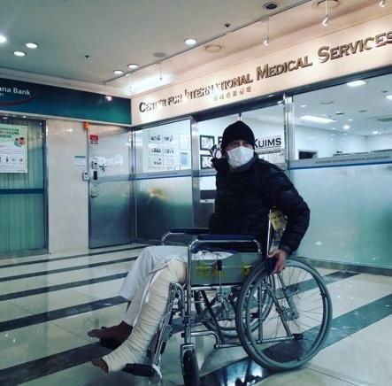 【公式】俳優キム・ヨンホ、肉腫(サルコーマ)の手術を終え退院「心配してくれたファンに感謝」(提供:news1)