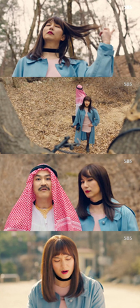 """韓国俳優キム・ナムギルの""""美しすぎる女装""""が話題になっている。(提供:news1)"""