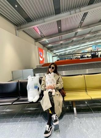韓国女優ハ・ジウォンが、日本で休暇を過ごす様子を伝えた。(写真提供:OSEN)