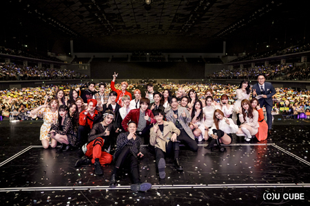 「BTOB」、「CLC」、「PENTAGON」、「(G)I-DLE」、ユ・ソンホ、ライ・グァンリン、「A Train to Autumn」