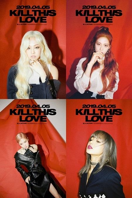 新曲「KILL THIS LOVE」で戻ってくるガールズグループ「BLACKPINK」が破格的なティザーイメージを公開し話題を集めている。(提供:news1)