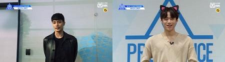 俳優ソンフン、「PRODUCE X 101」練習生クォン・テウンを応援(提供:OSEN)