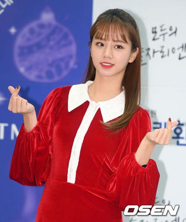 韓国芸能事務所C-Jesエンターテインメント側が、ヘリ(Girl's Day、24)の移籍に関して「事実ではない」と明らかにした。(提供:OSEN)