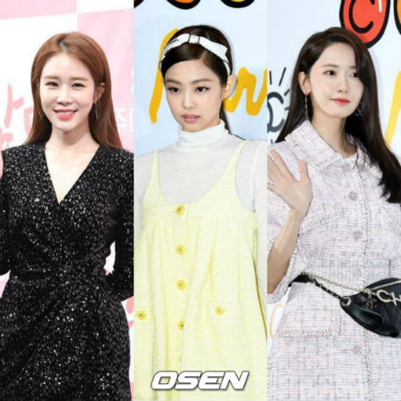 2019年3月の女性広告モデルブランド評判の調査結果、1位はユ・インナ、2位は「BLACKPINK」JENNIE(ジェニー)、3位はユナだった。(提供:OSEN)