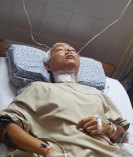 海外プールで負傷し全身麻痺のラッパーKK、6日帰国へ(画像:KKのInstagram)