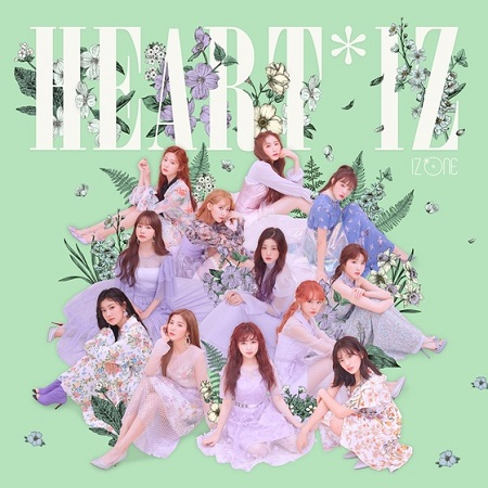 「IZ*ONE」、アルバム「HEART*IZ」の初動売上13万枚突破! 歴代ガールズグル―プ1位を記録(提供:news1)
