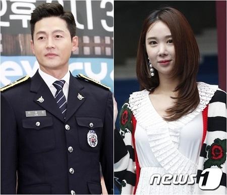 韓国俳優イ・ジョンジン(40)とガールズグループ「NINE MUSES」出身イユエリン(30、本名:イ・ヘミン)が破局したことがわかった。(提供:news1)