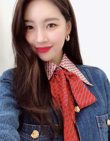 """歌手ソンミ(元Wonder Girls)、""""8キロ増量""""もラブリーな容姿に視線集中(提供:OSEN)"""