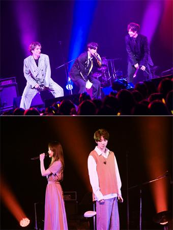 JUN(U-KISS)、自身初のソロライブでSOLIDEMO、宮脇詩音とコラボレーション実現!  (撮影:田中聖太郎写真事務所)