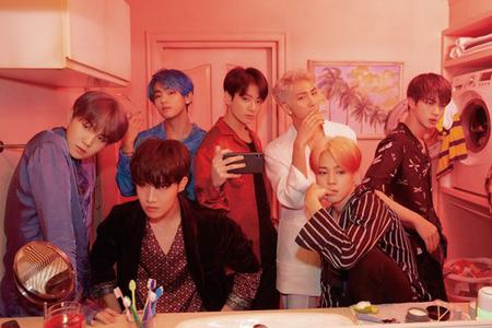 韓国ボーイズグループ「防弾少年団」が、新曲発表と同時にチャートを占領した。(提供:OSEN)