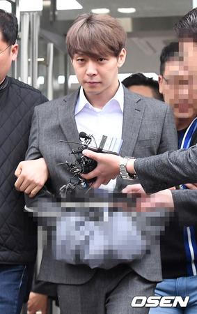 韓国俳優兼歌手のパク・ユチョン(JYJ、32)が、薬物使用容疑で検察に送致される。(提供:OSEN)