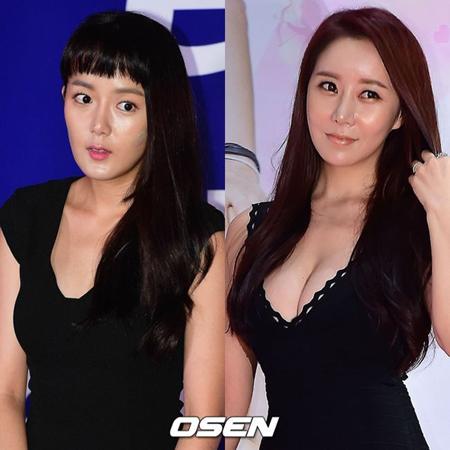 韓国女優カン・ウンビ(34)が、ハ・ナギョンに法的対応すると予告した。(提供:OSEN)