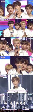 韓国ボーイズグループ「NU'EST」が、デビューして初めて音楽番組で1位を獲得した。(提供:OSEN)
