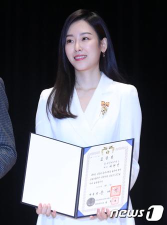 韓国女優ソ・ヒョンジンが、国税庁の広報大使委嘱式を欠席した。(提供:news1)