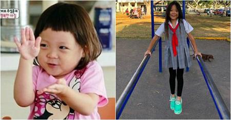 総合格闘家の秋山成勲&モデルのSHIHO夫婦の愛娘サランちゃんが、すっかりお姉さんになった姿を見せ、ネットユーザーを驚かせている。(写真提供:OSEN)