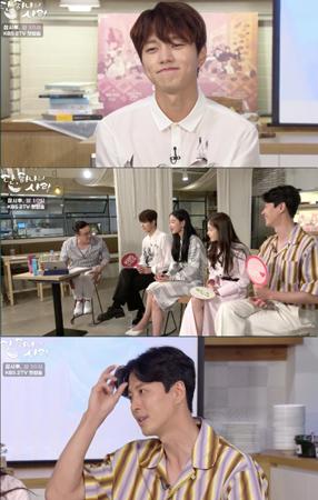 韓国KBSの新ドラマ「ただ、一つだけの愛」に出演の女優シン・ヘソン、俳優イ・ドンゴン、エル(INFINITE)が放送開始を控えて固いチームワークを見せた。(提供:OSEN)