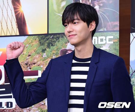 韓国俳優イ・ミンホの所属事務所が、悪意のある誹謗や根拠のない虚偽の内容の書き込みに対して法的対応を取っていることを明らかにした。(提供:OSEN)
