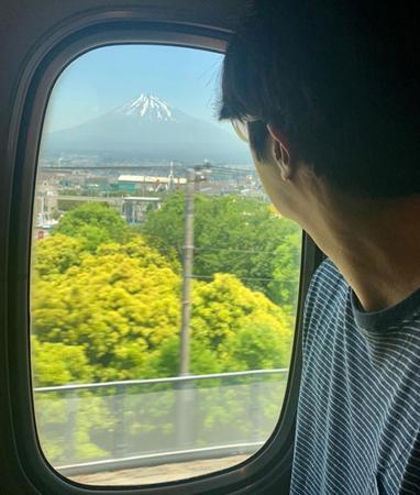 韓国俳優チョン・イルが日本での近況を公開した。(写真提供:OSEN)