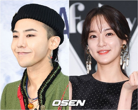 G-DRAGON(BIGBANG)-イ・ジュヨン(元AS)に再びの熱愛説、事務所側「確認中」(画像提供:OSEN)