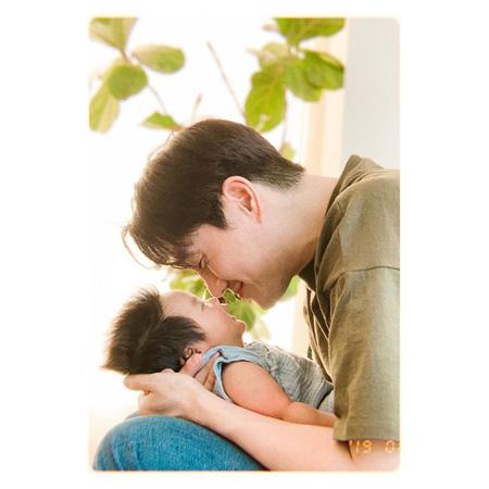 俳優ユ・ジテ&キム・ヒョジン夫妻、第2子の誕生50日にメッセージ 「ママのところに来てくれて、ありがとう」(画像:OSEN)