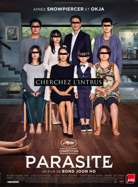カンヌ国際映画祭パルムドール受賞「パラサイト」、フランスで封切り(画像:OSEN)