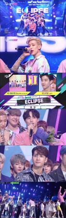 韓国ボーイズグループ「GOT7」が、音楽番組「ミュージックバンク」で1位を獲得した。(提供:OSEN)