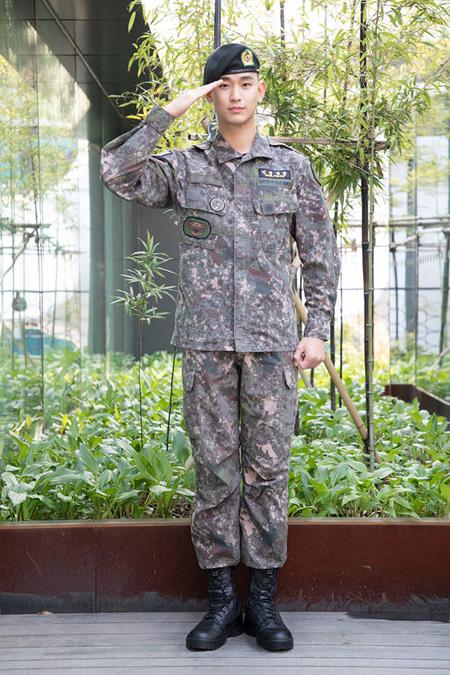俳優キム・スヒョン、7月1日除隊へ(画像提供:news1)