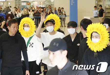 韓国ボーイズグループ「防弾少年団」が、ヨーロッパツアーを終えて帰国した。(提供:news1)