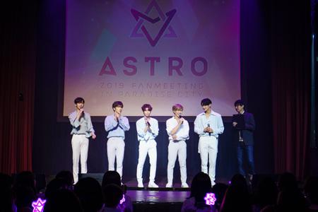 「ASTRO」、「FANMEETING in PARADISE CITY」 の様子を大公開! (オフィシャル)