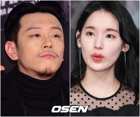 韓国ラッパーのBILL STAX(38)と元妻で女優のパク・ファニ(28)が、再び激しい対立をしている。(提供:OSEN)