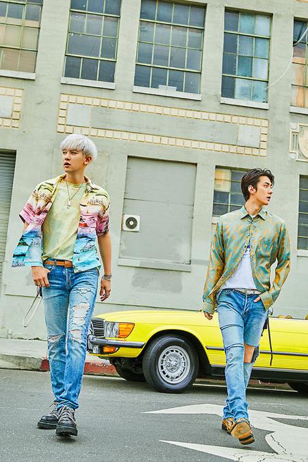 """EXO新ユニット""SEHUN X CHANYEOL、7月22日に1stミニアルバム発売へ(提供:OSEN)"