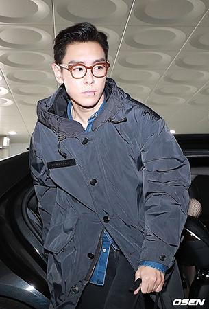 「BIGBANG」 T.O.Pが、今日(6日) 社会服務要員としての召集が解除された。(提供:OSEN)