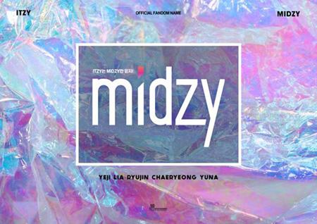 「ITZY」、公式ファンクラブ名は「MIDZY」に確定! (提供:OSEN)