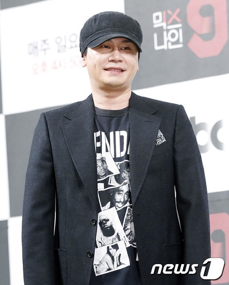芸能プロダクション・YGエンターテインメントの前総括プロデューサー、ヤン・ヒョンソクが参考人から被疑者に転じた。(提供:news1)