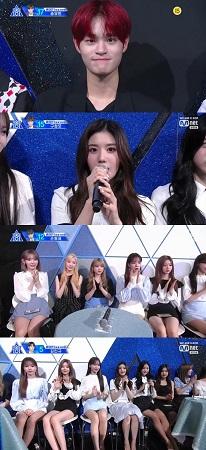 「Produce X 101」に元「WannaOne」のイ・デフィ(AB6IX)と「IZ*ONE」のメンバーが参加した。(提供:news1)