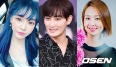 歌手KANGTAが、モデルのウ・ジュアン(左)、女優チョン・ユミ、タレントのオ・ジョンヨン(右)との相次ぐスキャンダルで困惑している中、3日開催の「SMTOWN LIVE」の東京公演に出演しなかった。(提供:OSEN)