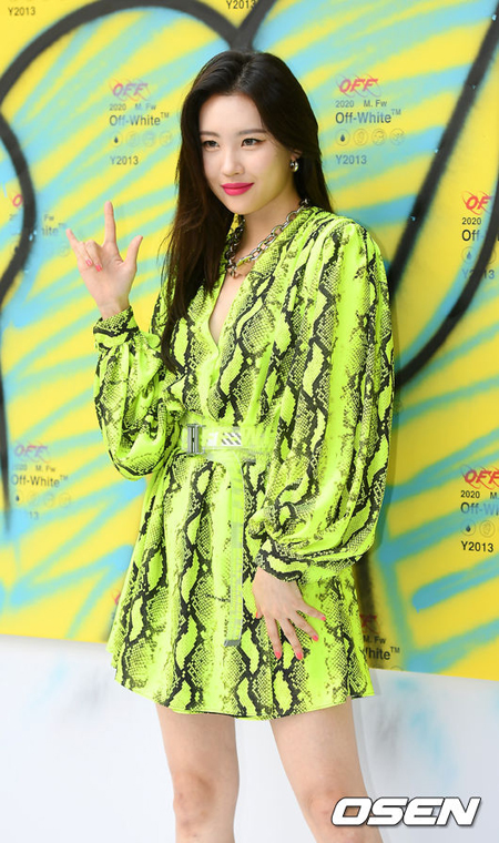 ソンミ(元Wonder Girls)、8月カムバックを控えて痣だらけの脚を公開…ファンから心配の声(画像:OSEN)