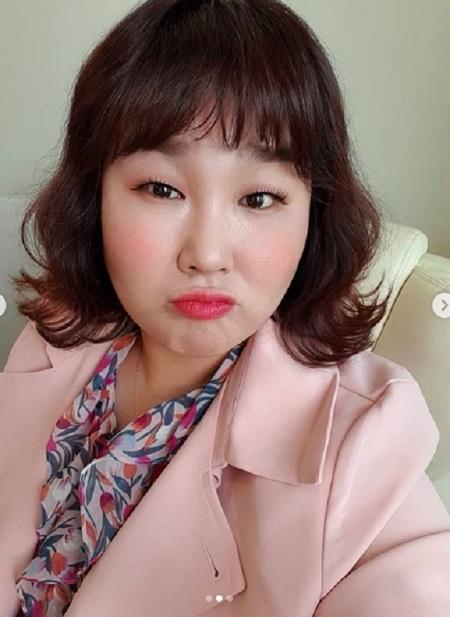 女性お笑い芸人のキム・ミンギョンが、弟の突然の訃報で悲しみに暮れている。(提供:OSEN)