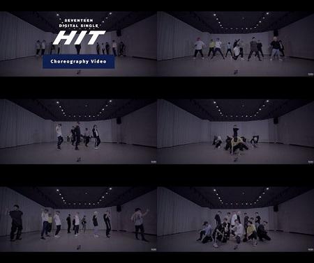 「SEVENTEEN」がデジタルシングル「HIT」のダンス映像を電撃公開した。(提供:OSEN)