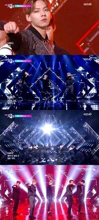 新人グループ「D1CE」、「MUSIC BANK」でデビュー曲を披露…パワフルなパフォーマンスで注目を浴びる(提供:news1)