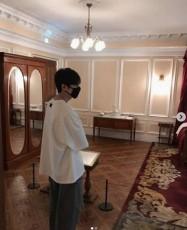 韓国俳優イ・ミンホがゆとりある日常を公開した。(写真提供:OSEN)