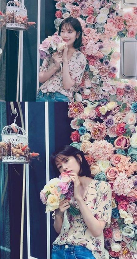 韓国女優チョン・ソミンが、ラブリーな近況を公開した。(写真提供:OSEN)