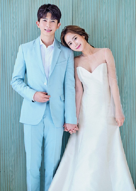 """「U-KISS」のキソプ、チョン・ユナと本日(8/24)結婚""""二度と現れない大切な人""""(提供:news1)"""
