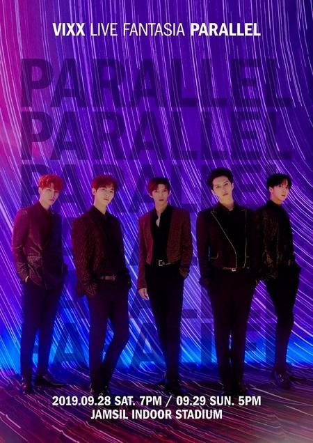 ボーイズグループ「VIXX」のニューデジタルシングル「PARALLEL」が、国内外で注目を集めている。(提供:news1)