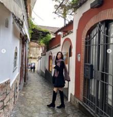 女優イ・ダヒが、驚きのパーフェクトボディを公開した。(提供:OSEN)