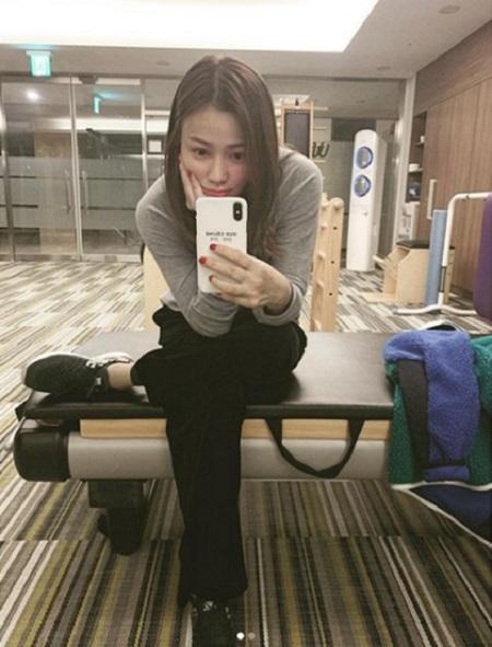 俳優クォン・サンウの妻、ソン・テヨンが日常を公開した。(提供:OSEN)
